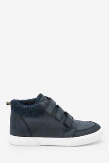 Warm Lined Triple Strap Boots (Older)