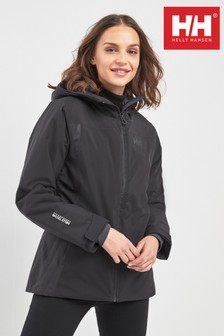 Helly Hansen Black Sunvally Ski Jacket