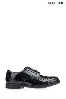 Start-Rite Black Brogue Shoe