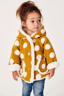 Hooded Fleece Lined Jacket (3mths-7yrs)