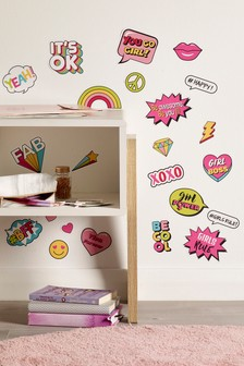 Girl Power Wall Stickers