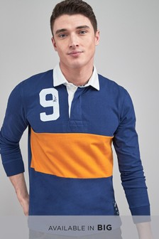 Blocked Rugby Shirt