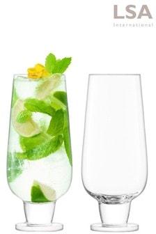 Set of 2 LSA International Rum Mixer Glasses