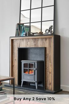 Jefferson Rustic Fireplace Surround