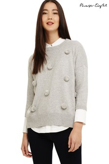 Phase Eight Grey Knitted Jumper