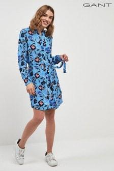 GANT Floral Printed Shirt Dress