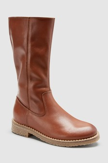 Tall Leather Boots (Older)