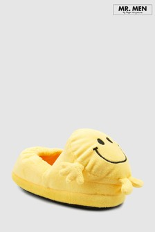 Mr Happy Slippers (Younger)