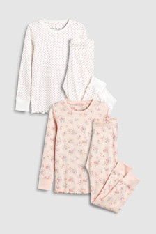 Floral Snuggle Pyjamas Two Pack (3-16yrs)