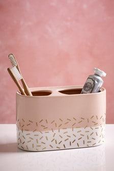 Ceramic Toothbrush Tidy