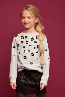 Animal Denim Skirt (3-16yrs)