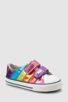 Stripe Touch Fastening Trainers (Younger)