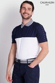 Calvin Klein Golf White Trevino Poloshirt