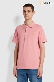 Farah Pink Blanes Polo
