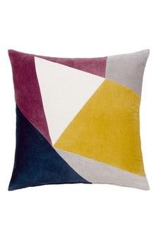 Velvet Patchwork Cushion
