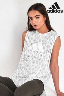 adidas Leopard Print Vest