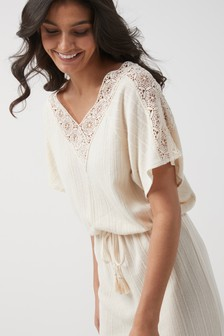 Lace Trim Cover-Up