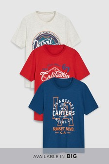 Graphic T-Shirts Three Pack