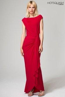 HotSquash Red Grecian Dress