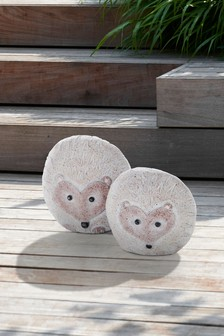 Set of 2 Hedgehogs Ornaments