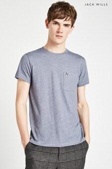 Jack Wills Blue Ayleford T-Shirt