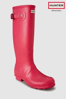 Hunter Bright Pink Original Tall Welly