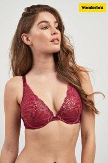 Wonderbra® Refined Glamour Triangle Lace Push Up Bra
