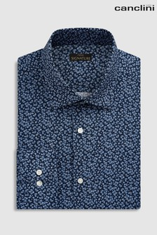 Signature Canclini Slim Fit Floral Shirt