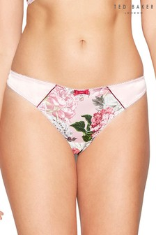 Ted Baker Light Pink Palace Gardens Thong