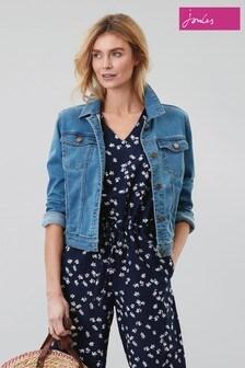 Joules Blue Elsa Denim Jacket