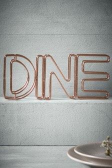 Dine Metal Word