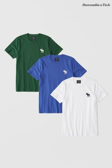 Abercrombie & Fitch Multi T-Shirt Three Pack