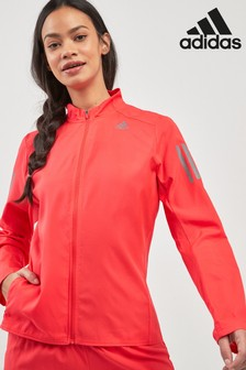 adidas Red Own The Run Jacket