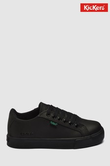 Kickers® Black Tovni Lace-Up Trainer