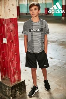 adidas Performance Black Linear Short