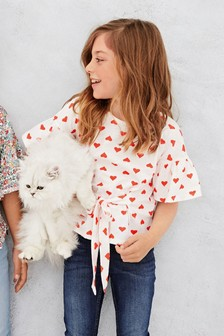 Tie Front T-Shirt (3-16yrs)