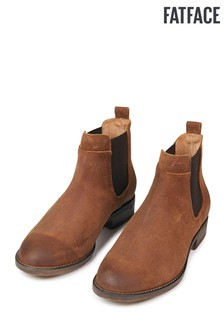 FatFace Newham Strappy Nubuck Chelsea Boot