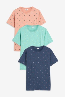 Printed T-Shirts Three Pack