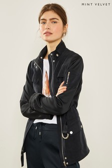 Mint Velvet Ink Four Pocket Utility Jacket
