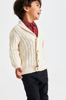 Cable Knit Cardigan (3mths-7yrs)
