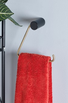 Triangle Toilet Roll And Towel Holder