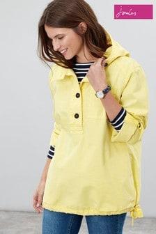 Joules Yellow Embleton Casual Pop Jacket