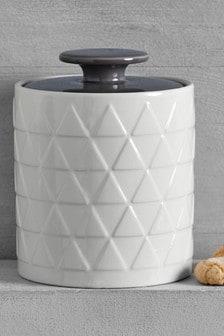 Embossed Jar