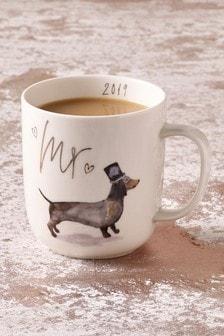 Est. In 2019 Dachshund Mr Mug