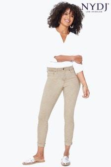 NYDJ® Beige Ami Skinny Ankle Jean With Raw Cuff