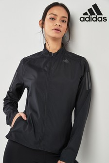 adidas Black Own The Run Jacket