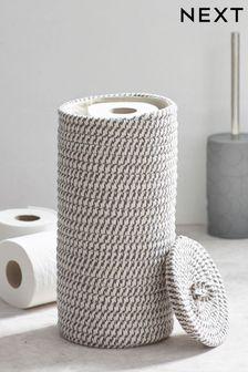 Woven Toilet Roll Holder