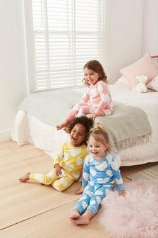 Heart Snuggle Pyjamas Three Pack (9mths-8yrs)