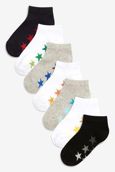Star Socks Seven Pack (Younger)