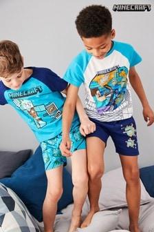 Minecraft Pyjamas Two Pack (3-12yrs)